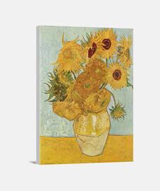 vase avec douze tournesols (1889)