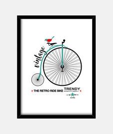 vélo monocycle c