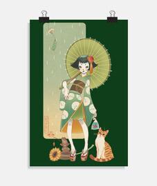 verano kokeshi