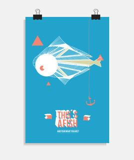 Vertikales Poster 2:3 - (20 x 30 cm)