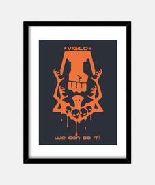 Vigilo confido Xcom 2 tee shirt