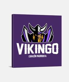 Vikingo Madridista - Negro