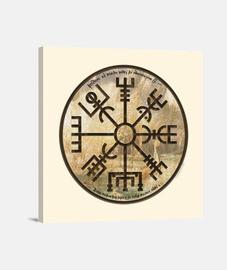 Vikingos - Vegvísir (brújula vikinga)