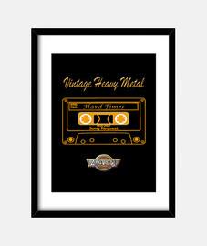 Vintage Heavy metal/cassette arkangel