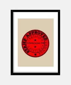 Vintage Stamp Certified