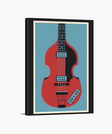 Violin Bass wall art