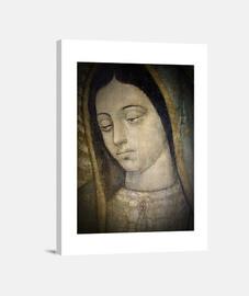 Virgen de Guadalupe - Cabeza. Lienzo Vertical 3:4 - (30 x 40 cm)
