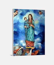 Virgen del Olvido, Triunfo y Misericordias (lienzo)