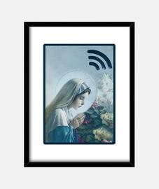 virgen wi-fi # impresión / decoración de interiores