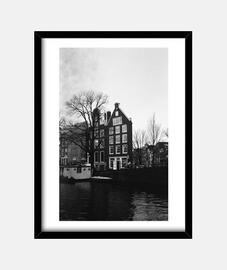 Vista de casa Amsterdam