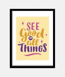 voir good en all choses rose