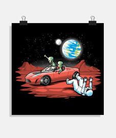 voiture de l'espace