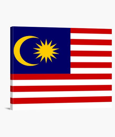 Tableau vol drapeau malaisien