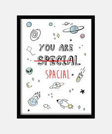 vous êtes spacial