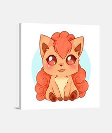 Vulpix chibi - pokemon