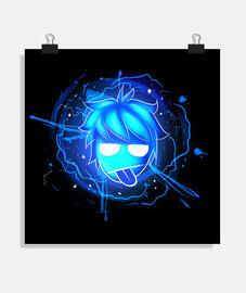 WAALY glow logo