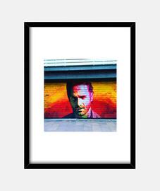 walking dead - cadre avec cadre vertical noir 3: 4 (15 x 20 cm)