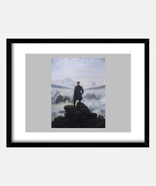wanderer above the sea of fog (1818