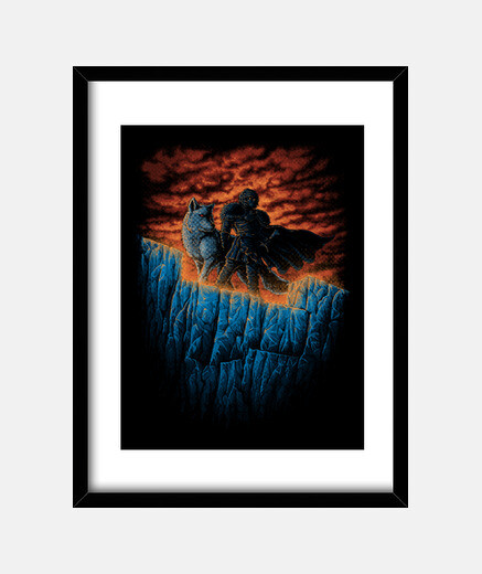 Watchers Of The Wall Print
