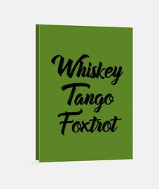 whisky tango foxtrot wtf shirt avec tex