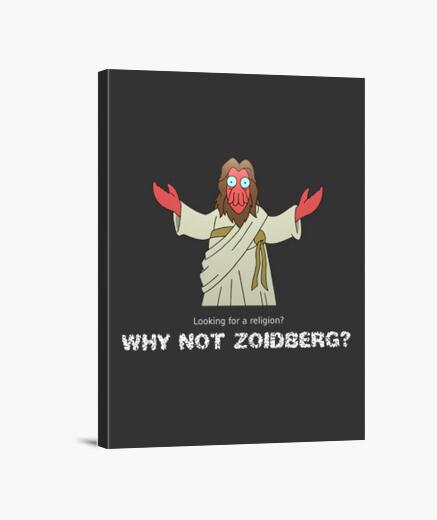 Lienzo Why not Zoidberg
