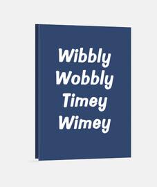 wibbly tambaleante