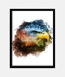 Wild Eagle Cuadro 3:4
