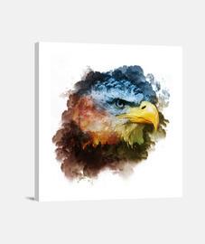 Wild Eagle lienzo 1:1