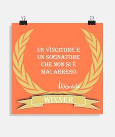 Winner ita poster