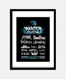 Winter Festival print