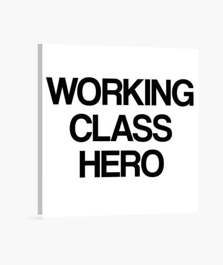 Lienzo Working Class Hero