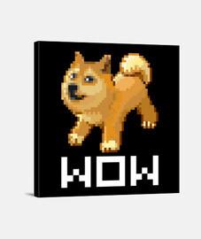 wow pokemon pixel doge