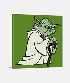 Yoda Lienzo