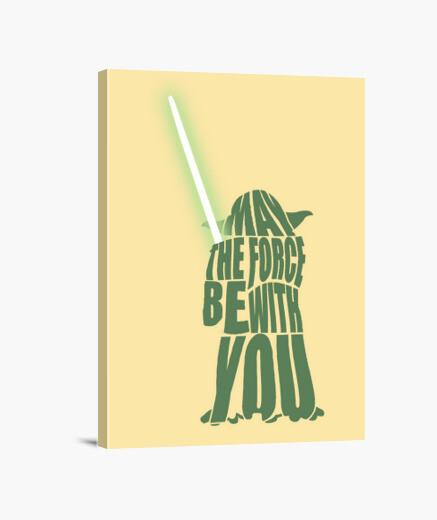 Lienzo Yoda Star Wars