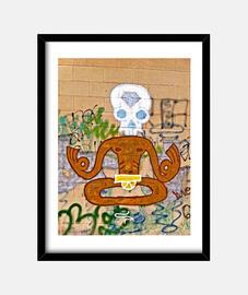 Yoga Grafiti - Cuadro