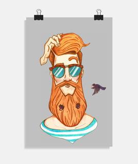 Zeit sich zu rasieren