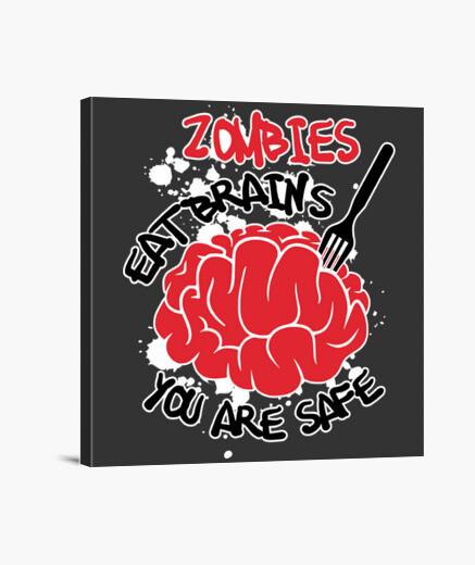 Stampa su tela zombie dieta