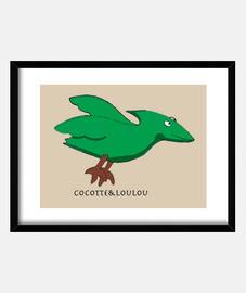 Zouno l'oiseau dinosaure