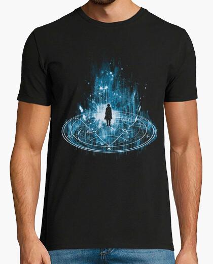 Tee-shirt -bleu transmutation