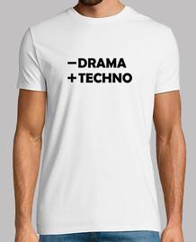 -DRAMA + TECHNO NEGRO