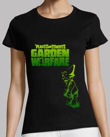 -Plantas vs Zombies- Chica Negro