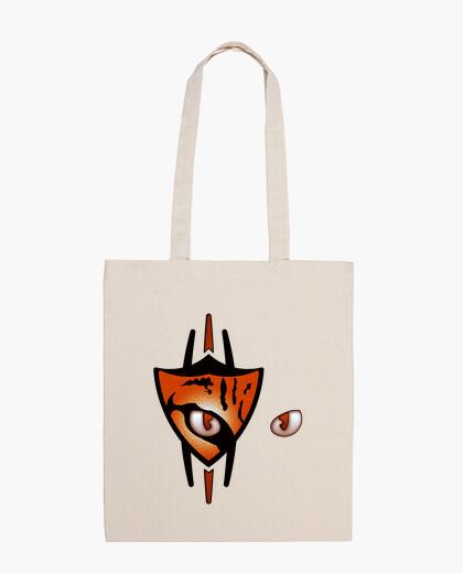 02 Ocelote eyes scratch bolsa de tela bag