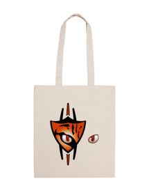 03 Ocelote eyes scratch bolsa de tela bag