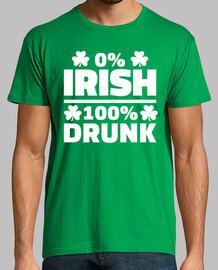 0% irlandés 100% borracho