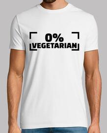 0% vegetariano