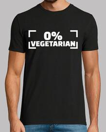 0% végétarien