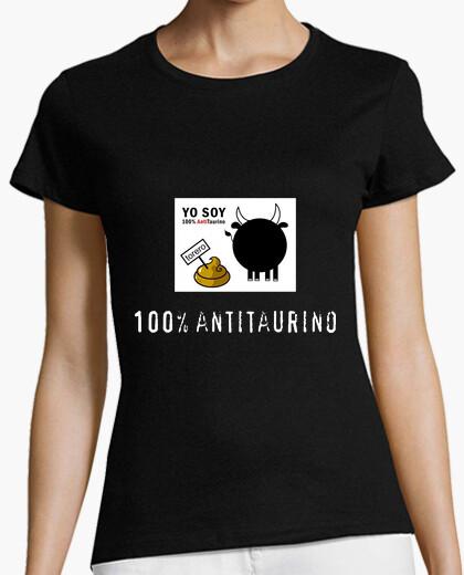 Camiseta 100% Antitaurino