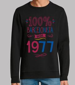 100% Barça depuis 1977