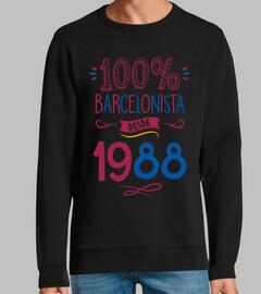 100% Barça depuis 1988