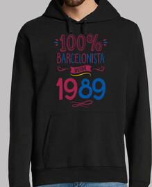 100% Barça depuis 1989